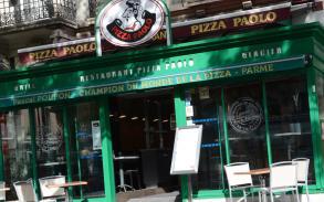 Devanture du restaurant Pizza Paolo à Chalon-sur-Saône