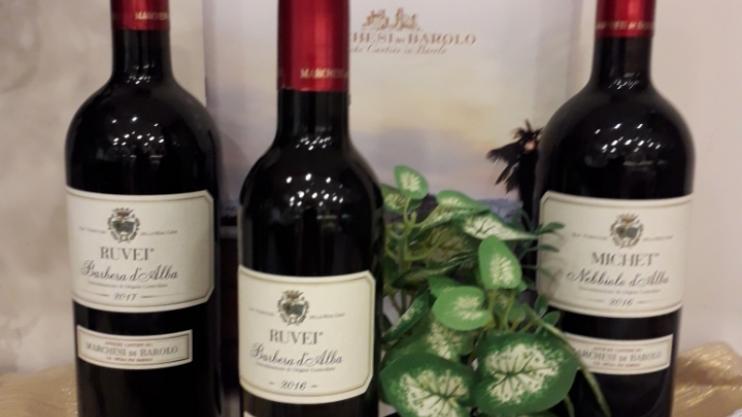 Les vins d'Alba