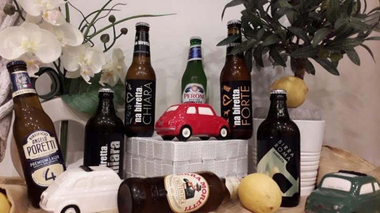 Entre bières classiques italiennes et bières artisanales
