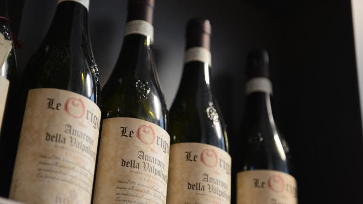 Sélection de vins italien